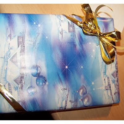 Weihnachtsgeschenke: Verpackung mit edler Doppelschleife