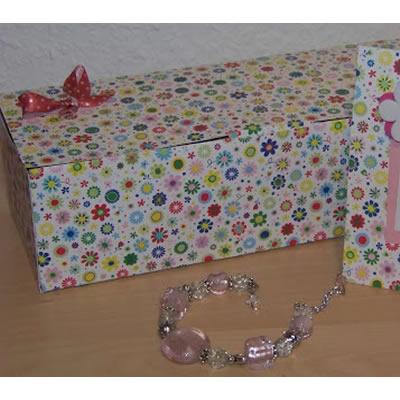 Anleitung: Geschenkbox und Geburtstagskarte