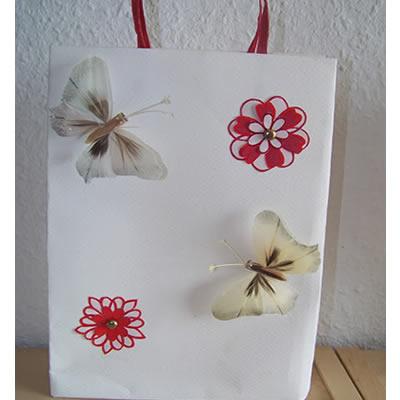[Geschenkverpackung] Schnelle Geschenktüte zu Muttertag