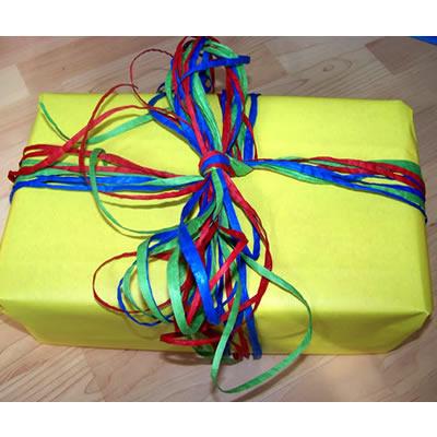 [Geschenkverpackung] Hauptsache bunt!