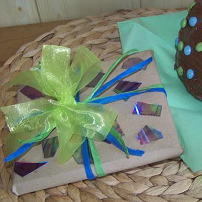 [Geschenkverpackung] CDs stilecht einpacken