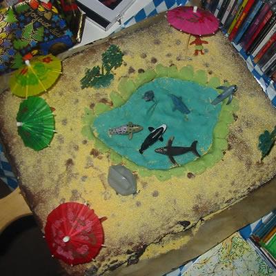 [Geschenke – Special] Strand – Kuchen