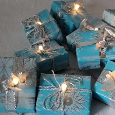 [Weihnachten] Selbstgemachte Lichterkette