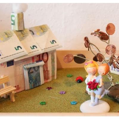 [Geldgeschenk] Hochzeitsgeschenk für Bauherren