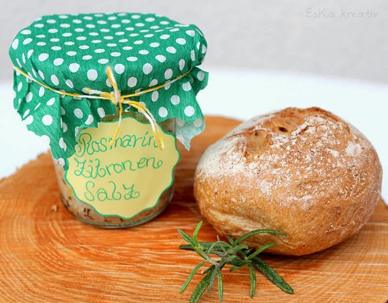Geschenk Tipp Einzugsgeschenk Mit Selbstgemachtem Salz