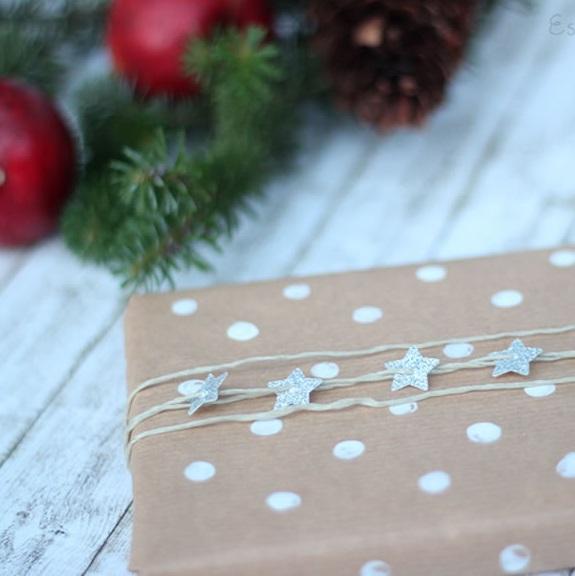 [Weihnachten] Geschenkverpackungen mit Packpapier