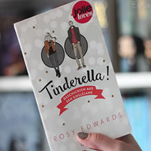 [All about the books] – Rosy Edwards – Tinderella!