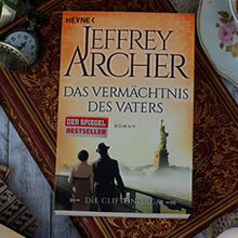 [All about the books] Jeffrey Archer – Vermächtnis des Vaters
