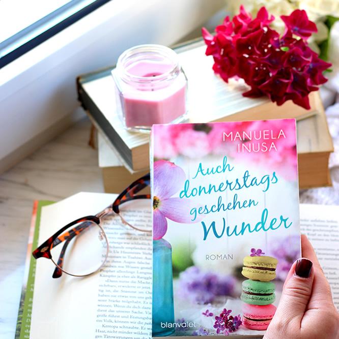 [All about the books] Manuela Inusa – Auch donnerstags geschehen Wunder