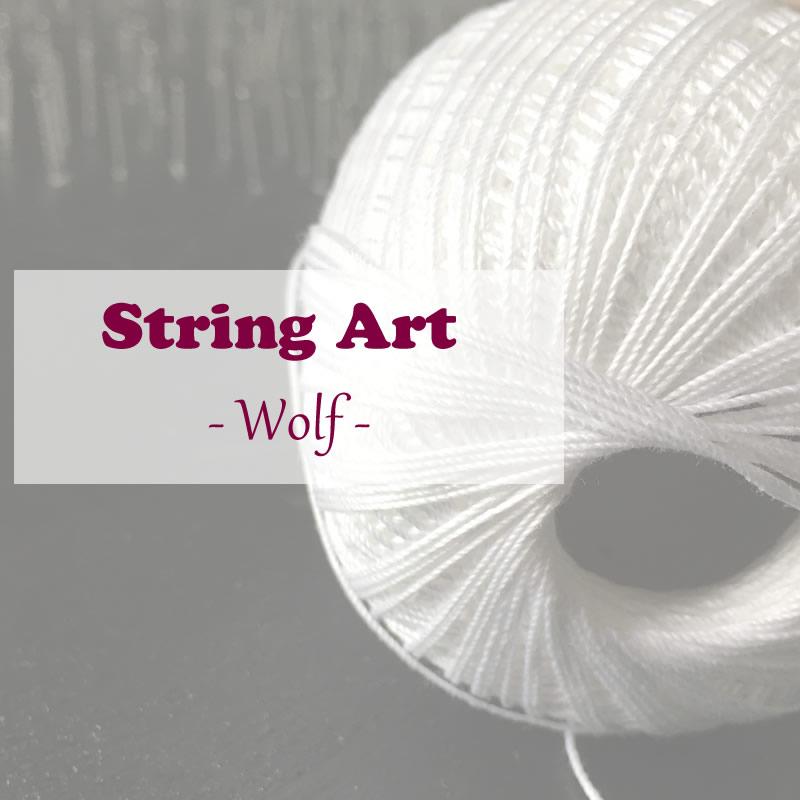 [Weihnachtsgeschenk für den Freund] String Art Bilder
