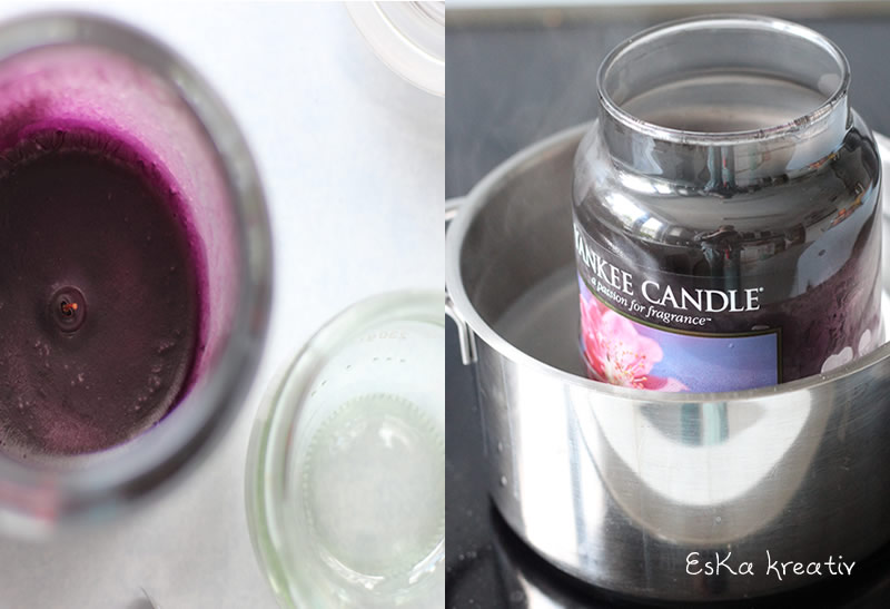 Yankee Candle Upcycling