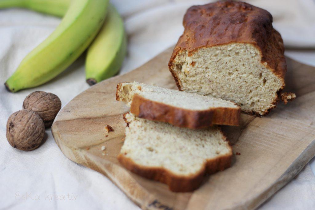Bananenbrot einfaches leckeres Rezept