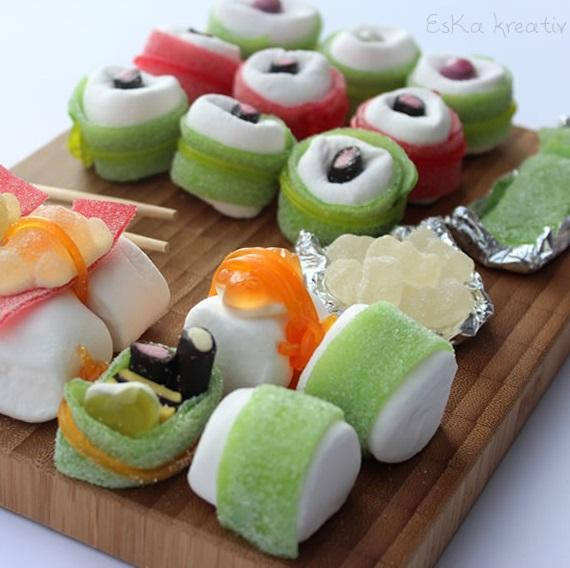 Geschenkgutschein Candy Sushi